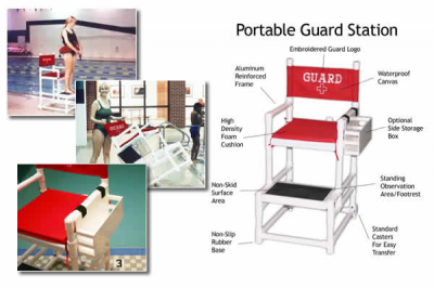 Get a lifeguard station from H2O Innovations.